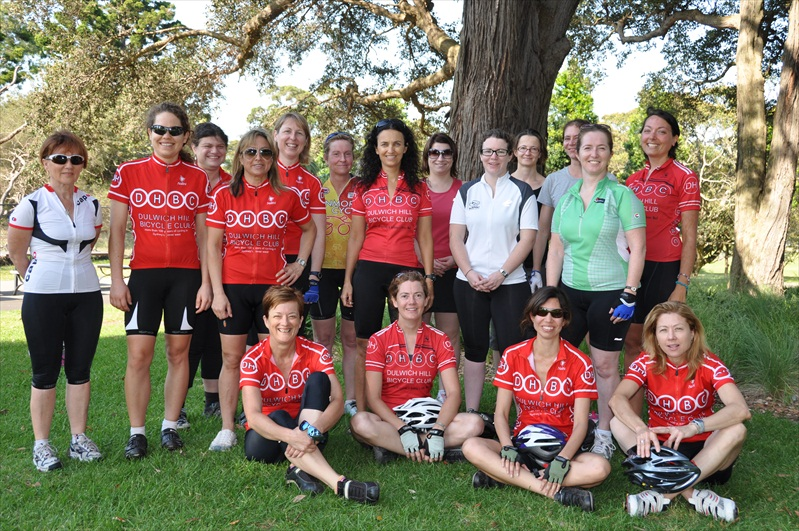 DHBC women at Centennial Park for the first women's day breakfast in Nov 2010